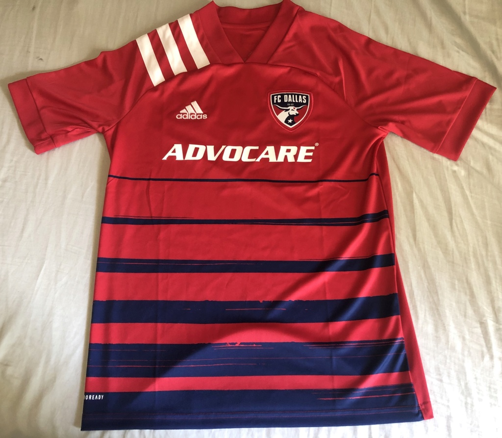 Fcd Red Away Jersey Youth XL #3 Feb04510