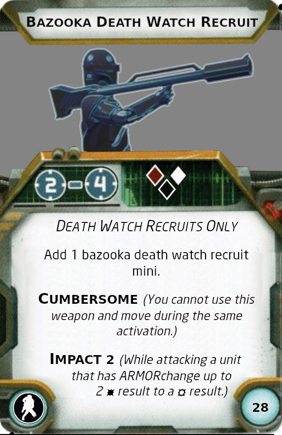 [Legion] Death Watch Custom Cards Bazook10