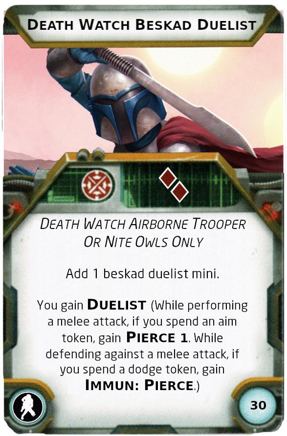 [Legion] Death Watch Custom Cards Beskad11