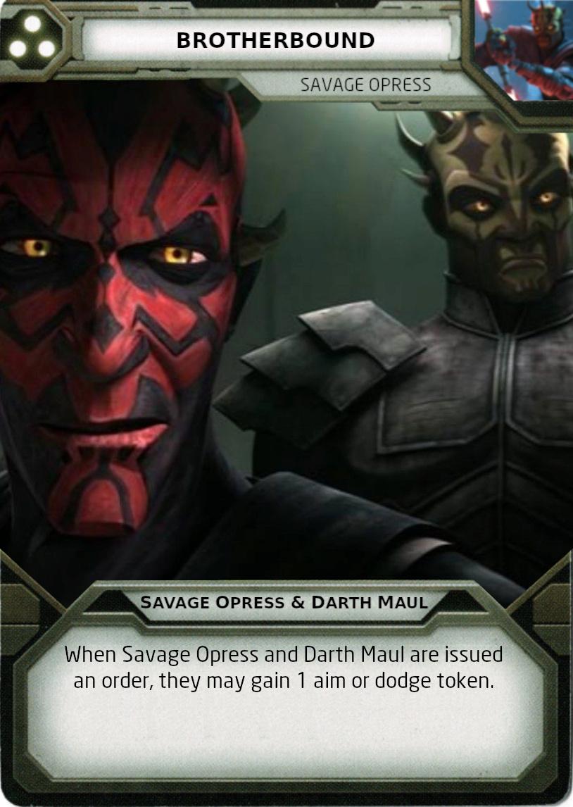 [Legion] Death Watch Custom Cards Brothe10