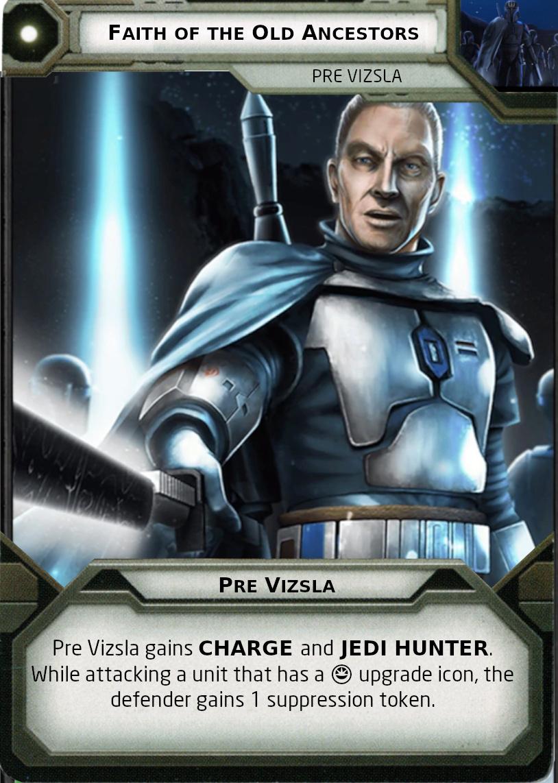 [Legion] Death Watch Custom Cards Faitch10