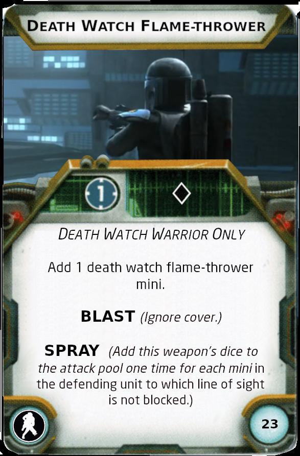 [Legion] Death Watch Custom Cards Flame_13