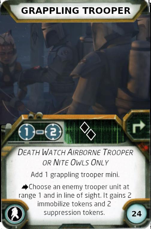 [Legion] Death Watch Custom Cards Grappl10