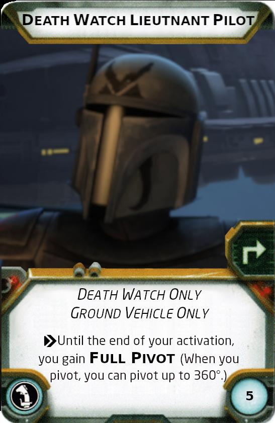 [Legion] Death Watch Custom Cards Lieutn10