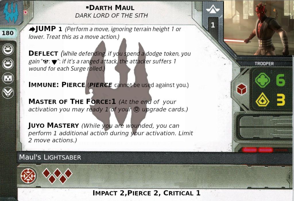 [Legion] Death Watch Custom Cards Maul10