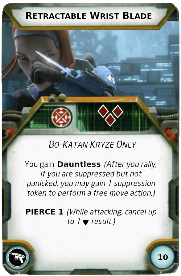 [Legion] Death Watch Custom Cards Retrac10