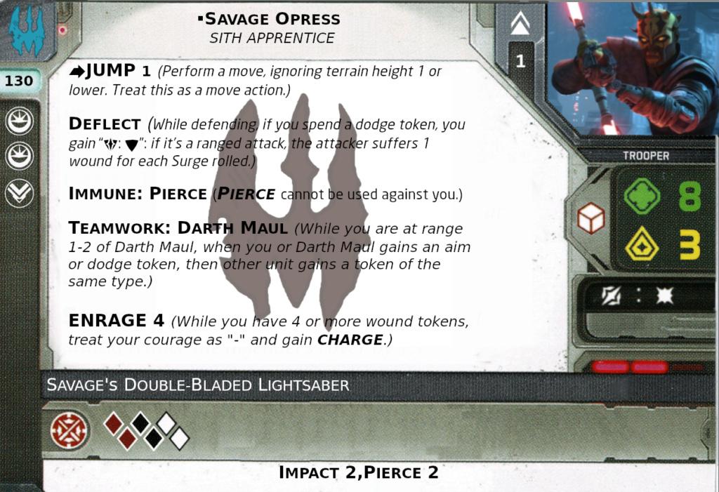 [Legion] Death Watch Custom Cards Savage10