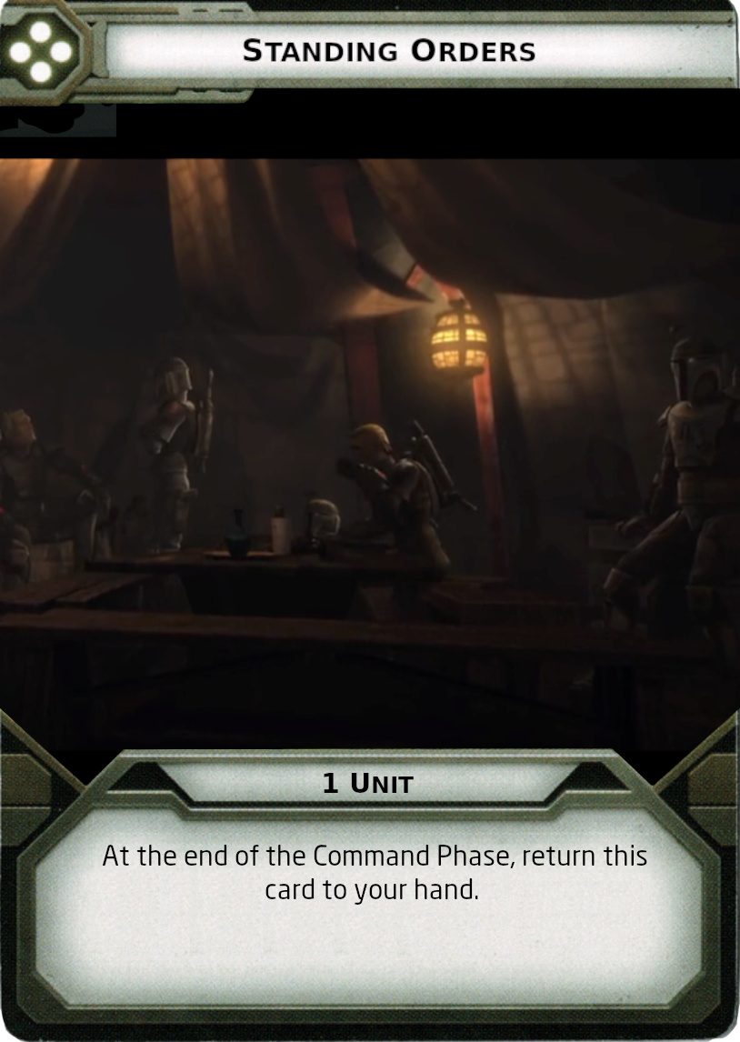 [Legion] Death Watch Custom Cards Standi10