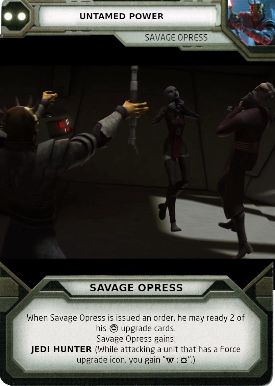 [Legion] Death Watch Custom Cards Untame10