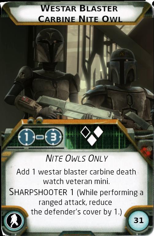 [Legion] Death Watch Custom Cards Westar10