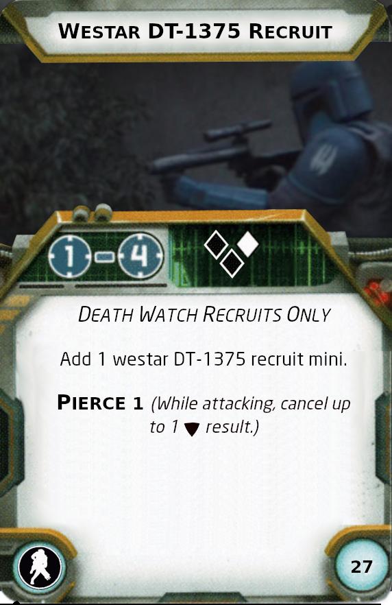 [Legion] Death Watch Custom Cards Westar12