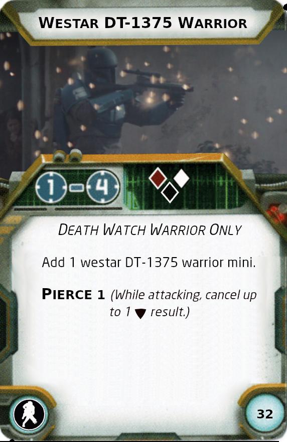 [Legion] Death Watch Custom Cards Westar13