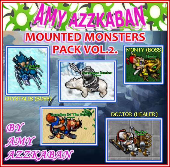8.7 MOUNTED MONSTERS PACK VOL.2. 26862510