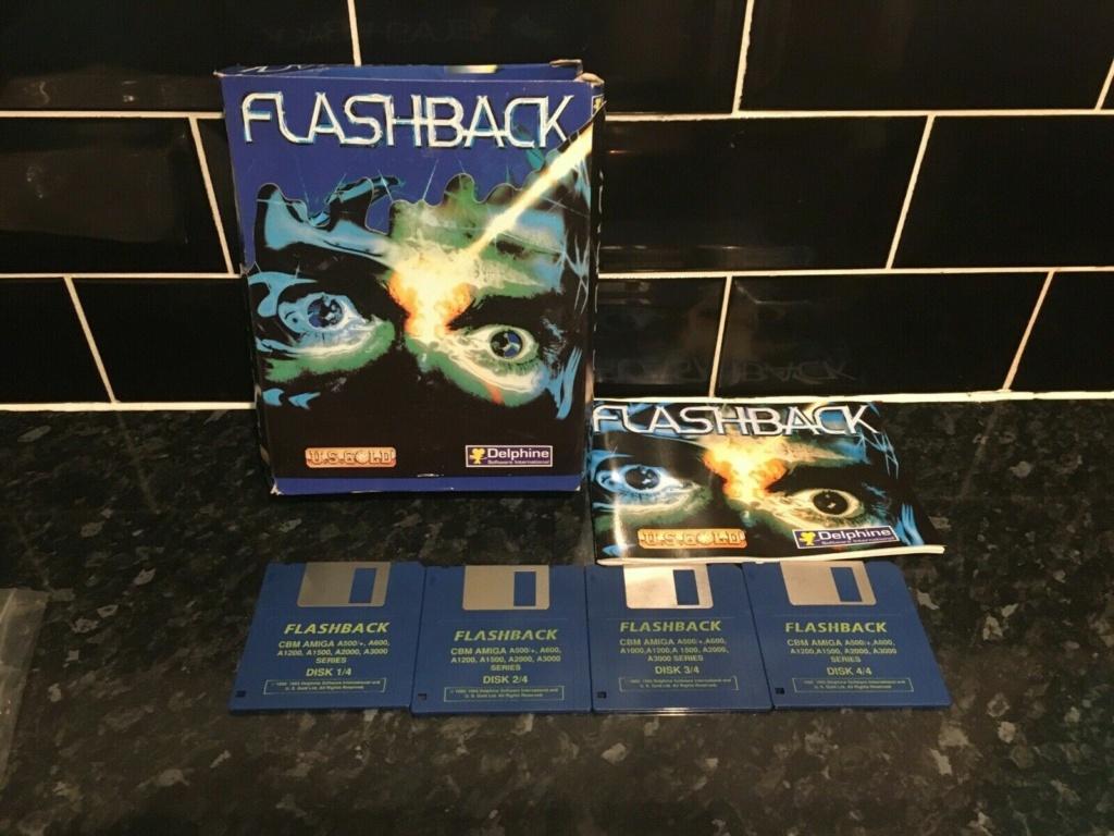 [EST] Flashback Amiga et Heart of Darkness PC S-l16010