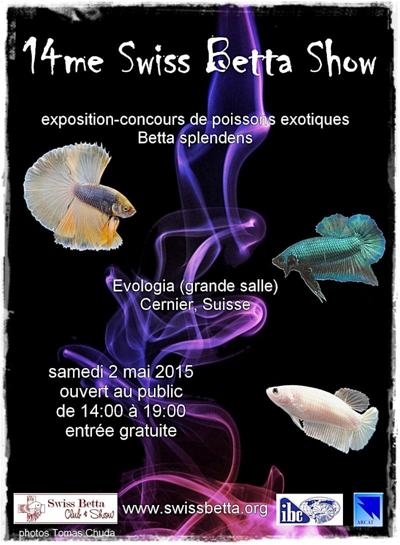 14me Swiss Betta Show: du 1 au 3 mai 2015, à Cernier Sbc01210