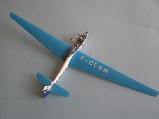 Planeur SZD9 Bocian, Pologne, 1952, 1/72, [PZW] P2280011
