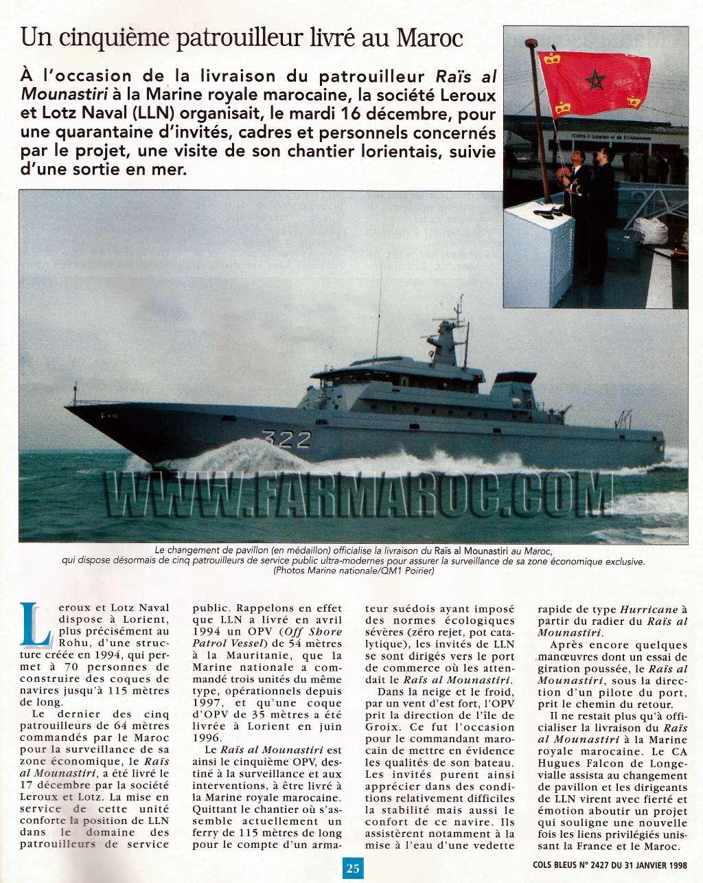 Articles à propos de la Marine Royale Marocaine 30bx10