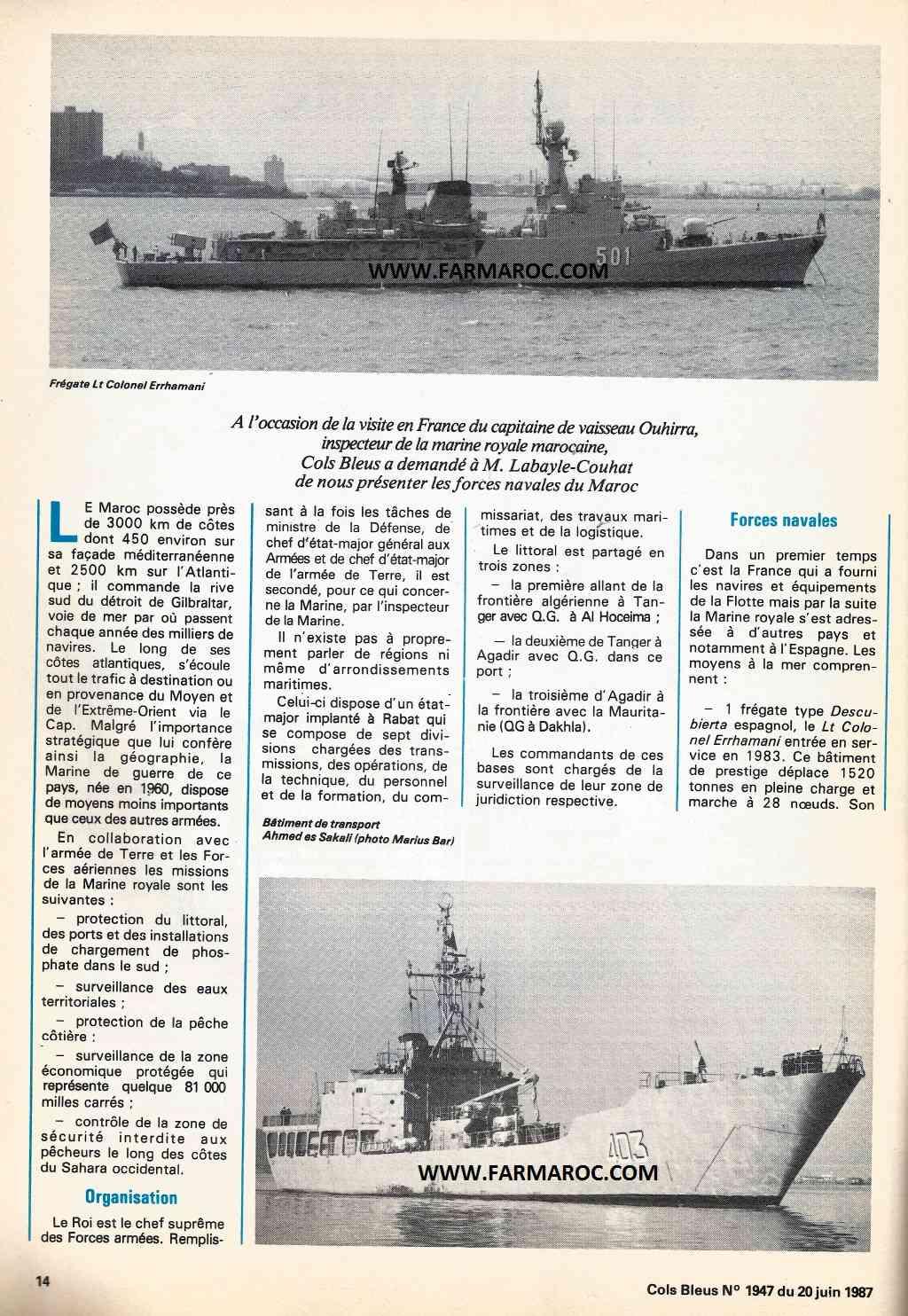 Articles à propos de la Marine Royale Marocaine D1j510