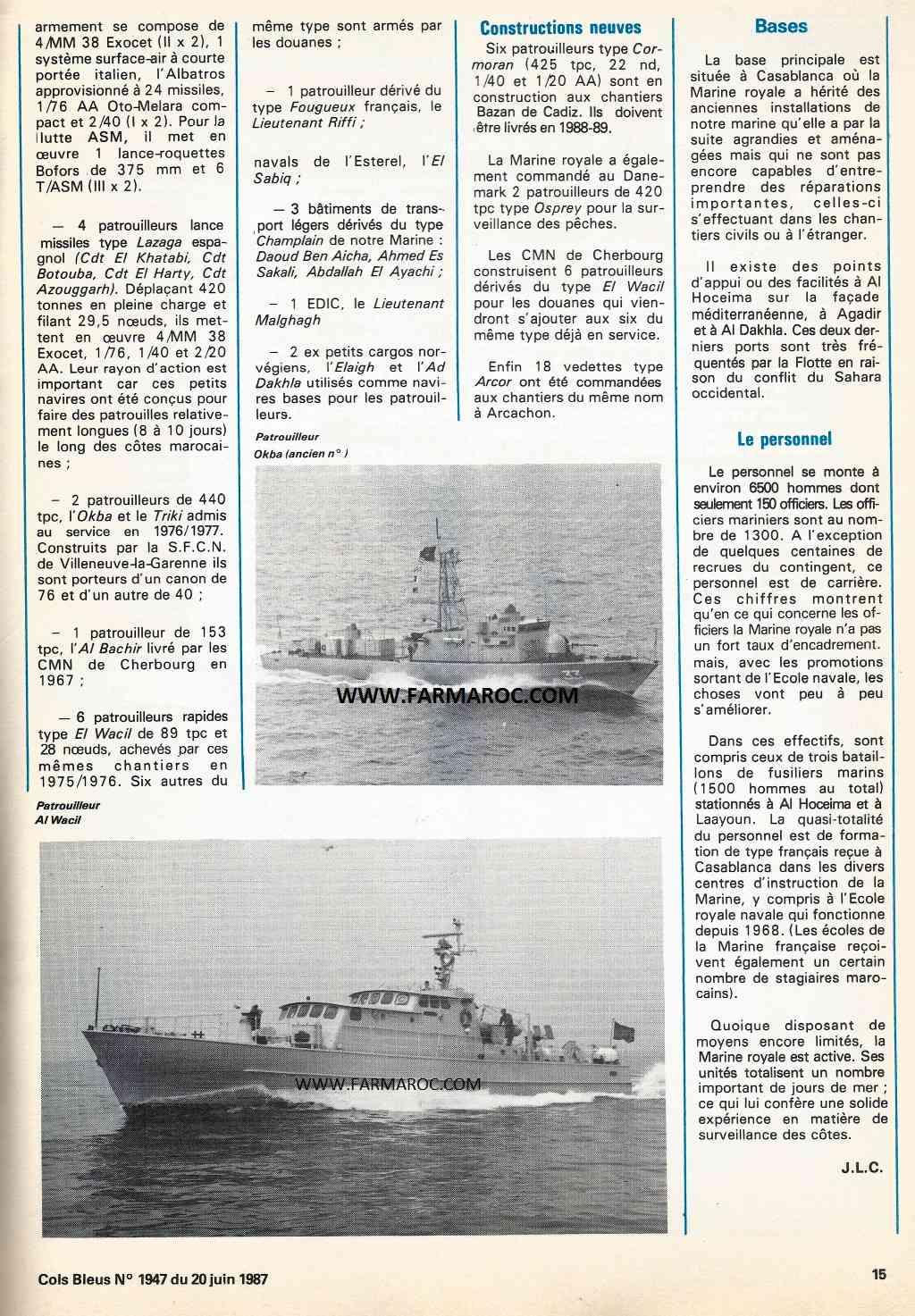 Articles à propos de la Marine Royale Marocaine W5op10