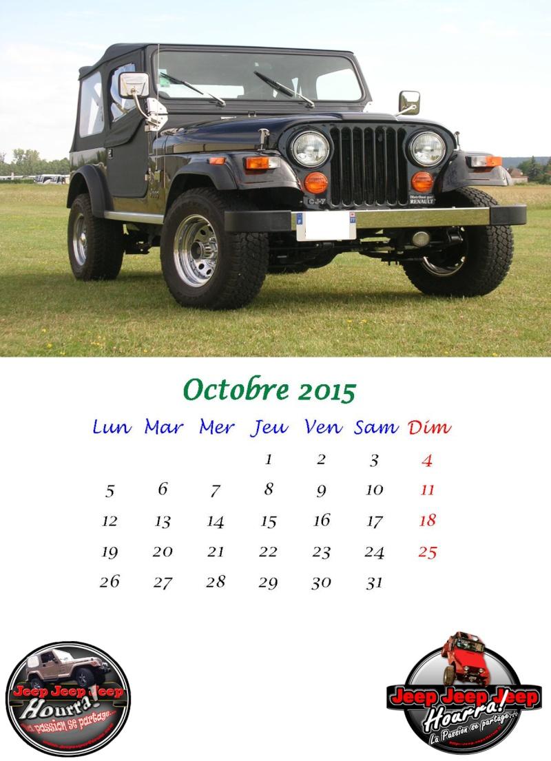 calendrier 2015 Octobr10