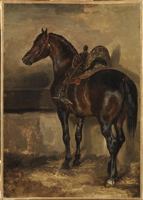 Cherche idée tableau de maitre représentant un cheval  92533010