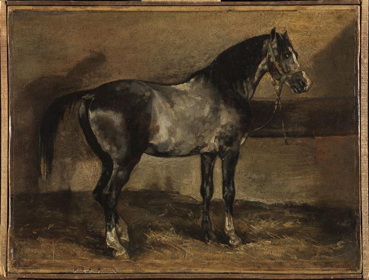 Cherche idée tableau de maitre représentant un cheval  92543710