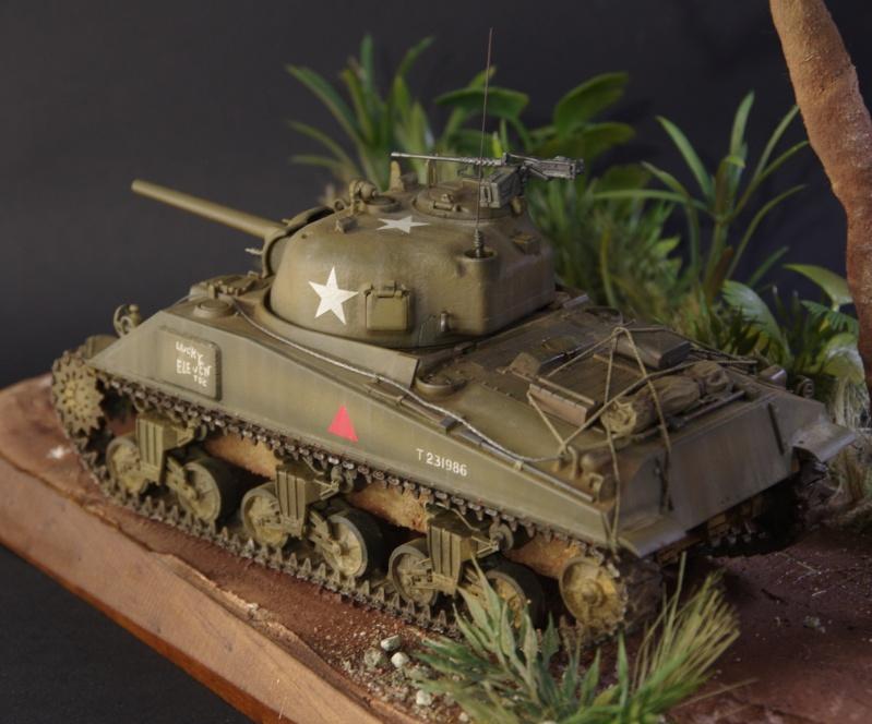 Sherman M4 A4 Cyber Hobby 1/35 Imgp4920