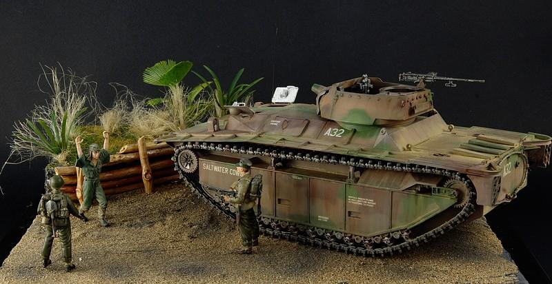LVT A 4 italeri 1/35 Iwo Jima Imgp5010