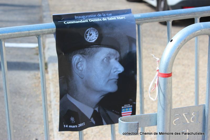 Reportage photo cérémonie inauguration rue commandant de Saint Marc à Béziers 01-img10
