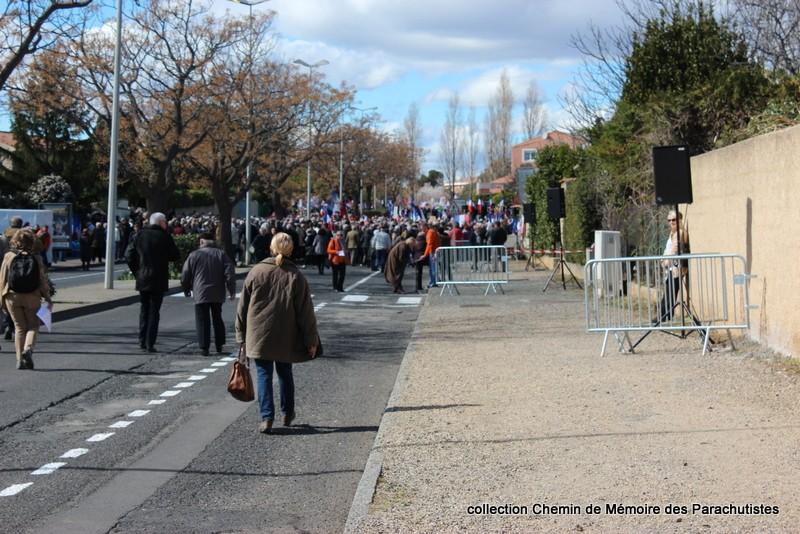 Reportage photo cérémonie inauguration rue commandant de Saint Marc à Béziers 02-img10