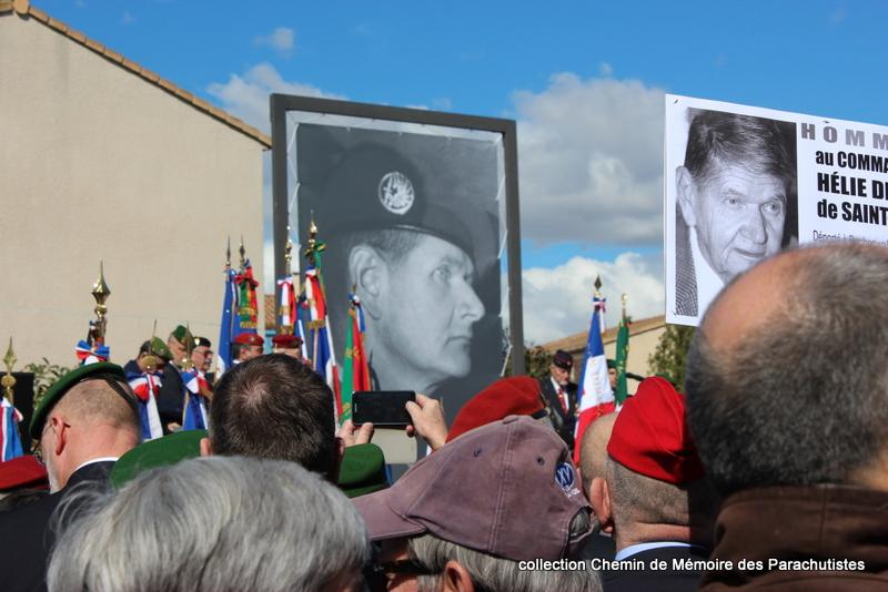 Reportage photo cérémonie inauguration rue commandant de Saint Marc à Béziers 03-img10