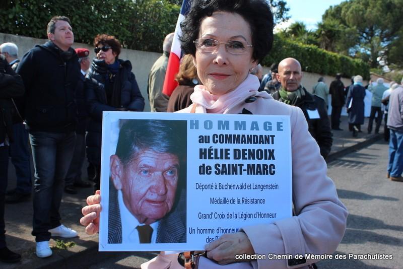 Reportage photo cérémonie inauguration rue commandant de Saint Marc à Béziers 06-img10