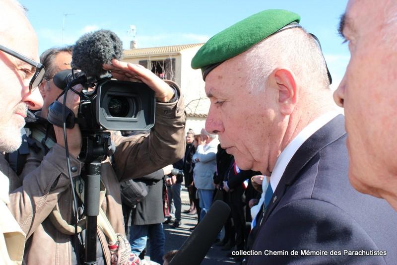 Reportage photo cérémonie inauguration rue commandant de Saint Marc à Béziers 07-img10