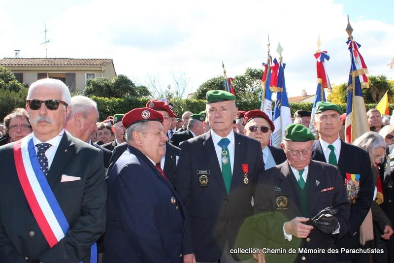 Reportage photo cérémonie inauguration rue commandant de Saint Marc à Béziers 09-img10