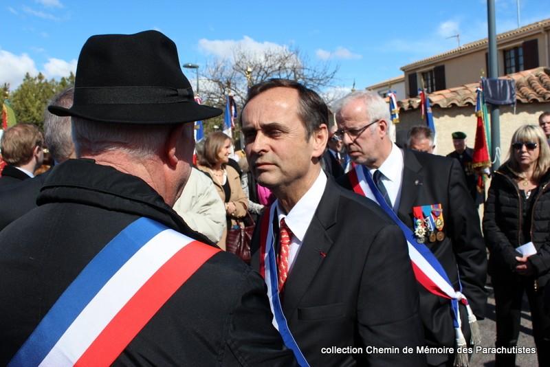 Reportage photo cérémonie inauguration rue commandant de Saint Marc à Béziers 10-img11