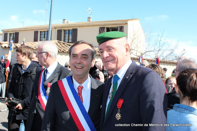 Reportage photo cérémonie inauguration rue commandant de Saint Marc à Béziers 11-img10
