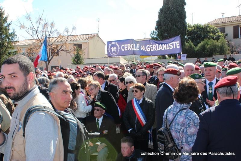 Reportage photo cérémonie inauguration rue commandant de Saint Marc à Béziers 13-img10