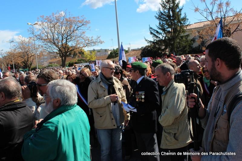 Reportage photo cérémonie inauguration rue commandant de Saint Marc à Béziers 14-img10