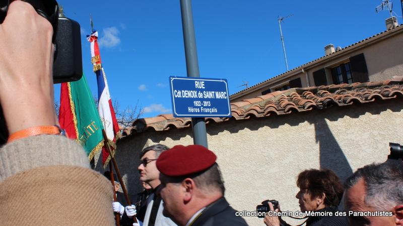 Reportage photo cérémonie inauguration rue commandant de Saint Marc à Béziers 19-img10