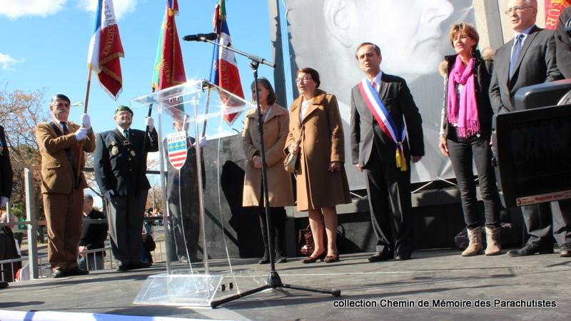 Reportage photo cérémonie inauguration rue commandant de Saint Marc à Béziers 20-img11