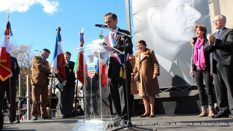 Reportage photo cérémonie inauguration rue commandant de Saint Marc à Béziers 21-img10