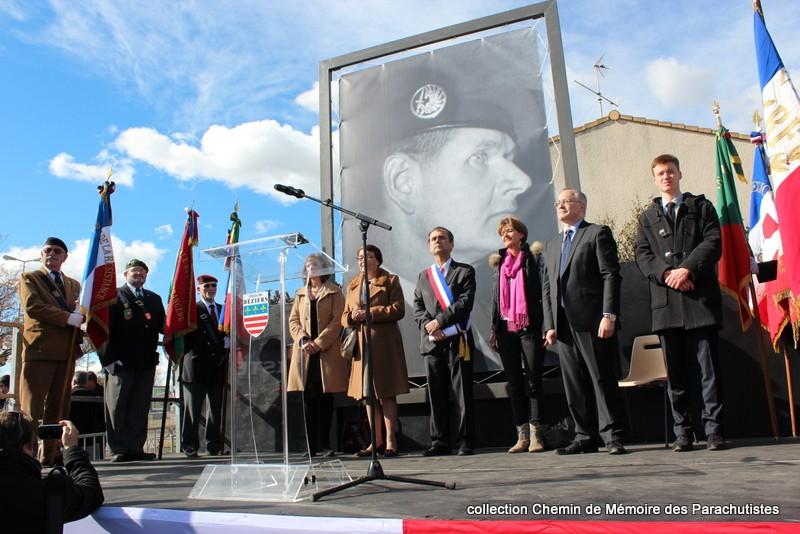 Reportage photo cérémonie inauguration rue commandant de Saint Marc à Béziers 24-img10