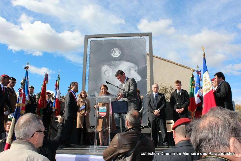 Reportage photo cérémonie inauguration rue commandant de Saint Marc à Béziers 25-img10