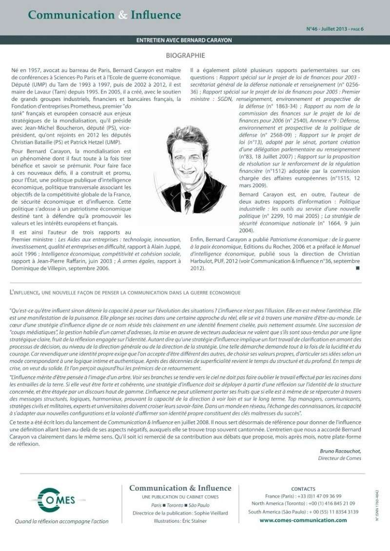 Ce que l'affaire Snowden révèle de la guerre économique : le décryptage de Bernard Carayon Carayo15