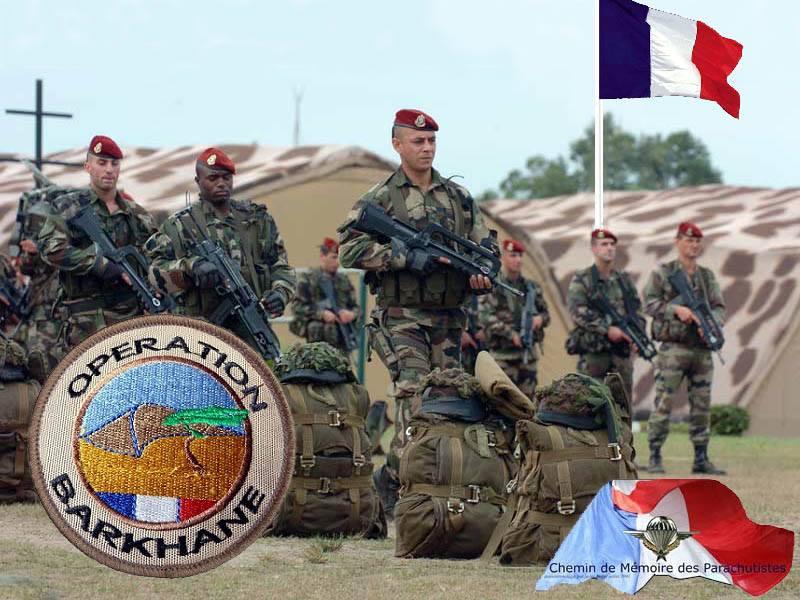 BARKHANE Sahel: Mauritanie, Mali, Burkina-Faso, Niger et Tchad