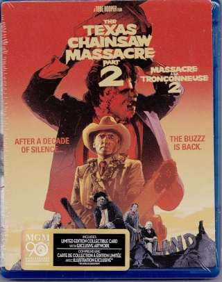 [Blu-Ray] Massacre à la Tronçonneuse 2 (Import US)   The_te10