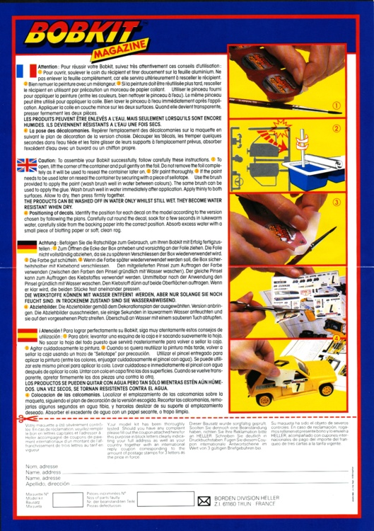 VOUGHT F4U-4 et F4U-7 CORSAIR 1/48ème Réf BOBKIT 53051 & Réf 80415 Notice F4u-4_13
