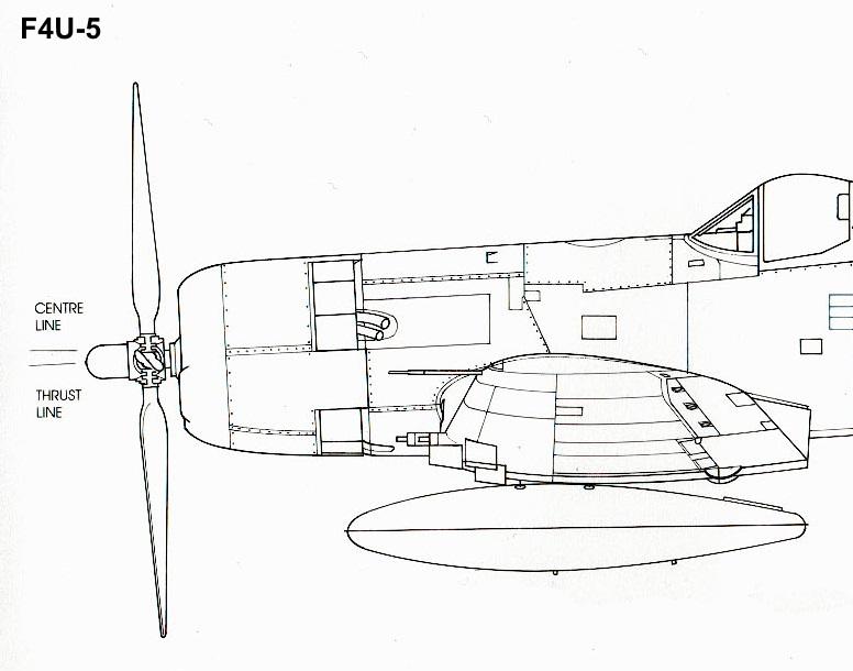 Vought F4U-5N et F4U-7, Italeri, 1/72 F4u-5n12