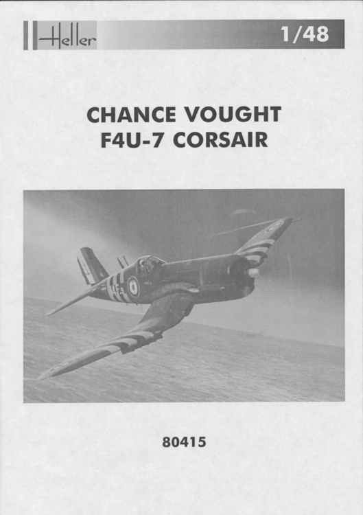 VOUGHT F4U-4 et F4U-7 CORSAIR 1/48ème Réf BOBKIT 53051 & Réf 80415 Notice F4u-7_10