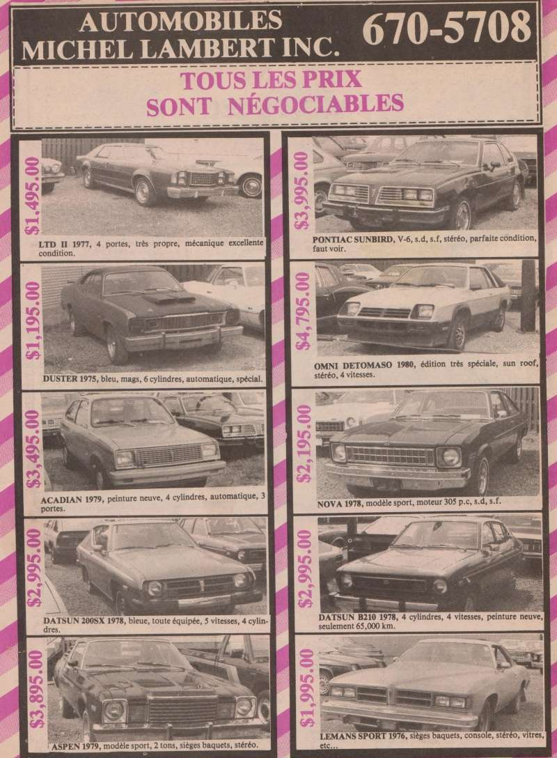 choix de char pour voyage en 1983 1983vo11